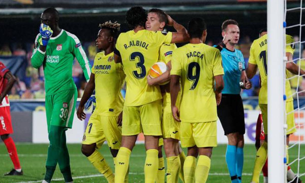 Europa League: Ματς… πόλο στο Βιγιαρεάλ-Σίβασπορ 5-3 (vids)