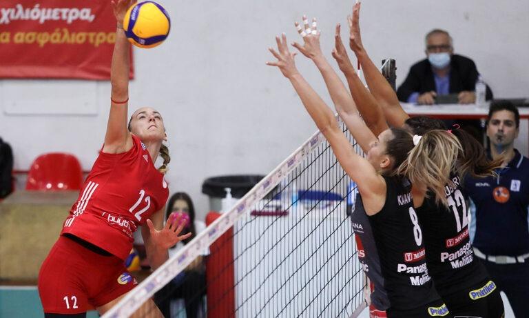 Ολυμπιακός – ΠΑΟΚ 3-2 σετ: «Ερυθρόλευκο» το ντέρμπι των γυναικών