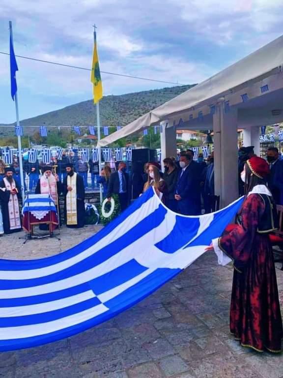 Γέμισαν με Ελληνικές σημαίες οι Βουλιαράτες για την επέτειο του ΟΧΙ