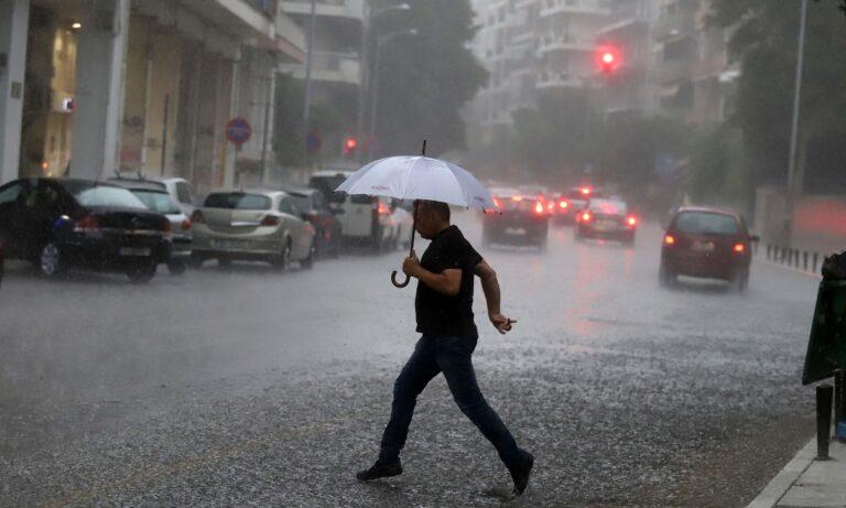 Καιρός 12/10: Κακοκαιρία με ισχυρές βροχές και καταιγίδες