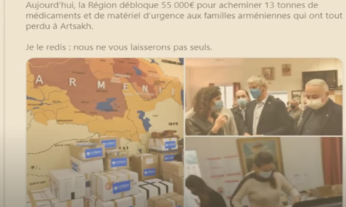 Toυρκία: Σοκ από χάρτη Γάλλου πολιτικού με τη Δυτική Αρμενία