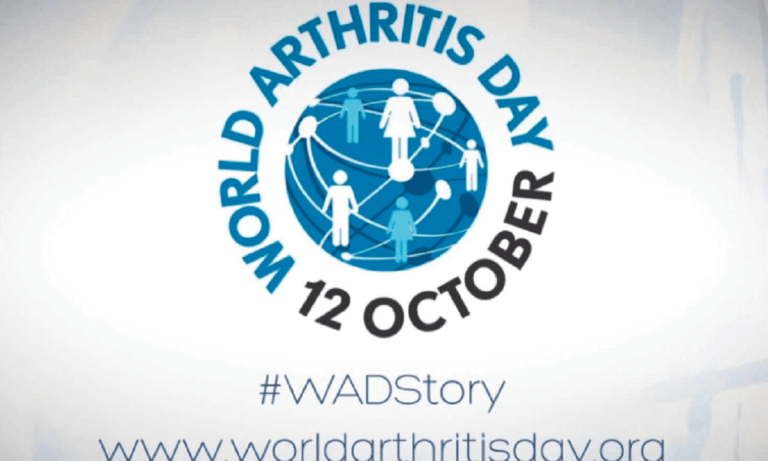 12 Οκτωβρίου: Παγκόσμια Ημέρα κατά της Αρθρίτιδας
