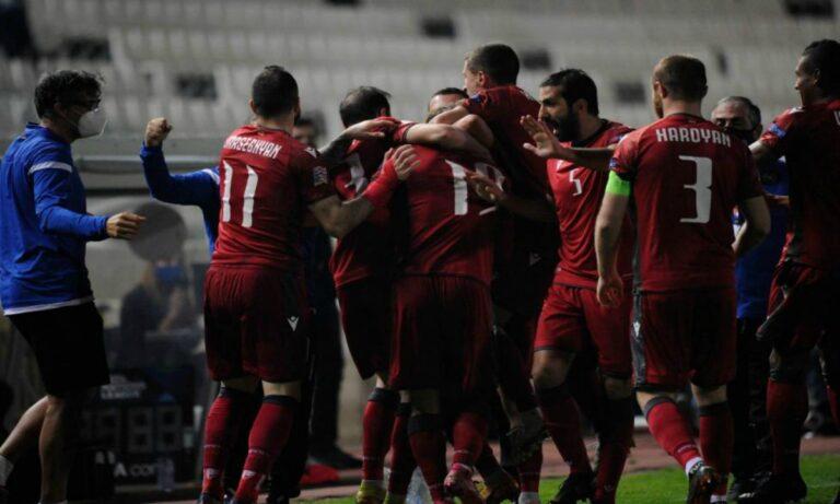 Nations League: Νίκη ανόδου για την Αρμενία