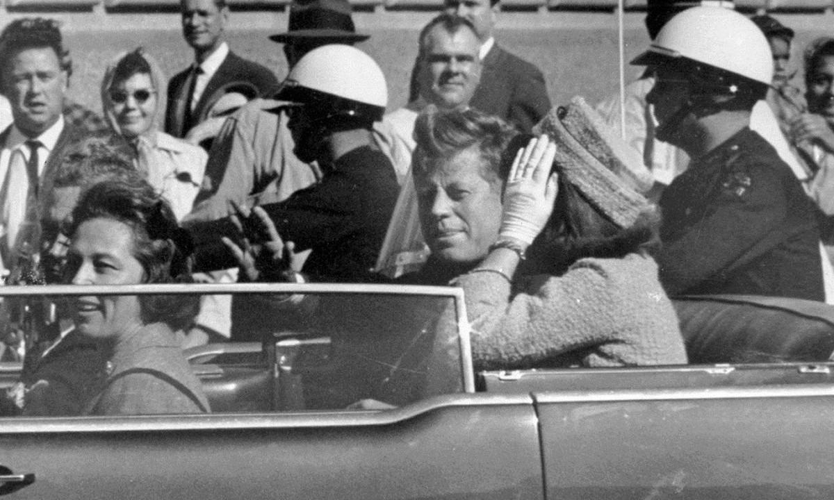22 Νοεμβρίου: Η ημέρα που δολοφονήθηκε ο Τζον Κένεντι