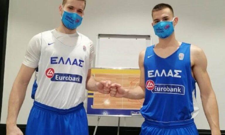 Εθνική ομάδα: Brothers in blue! (Vid)