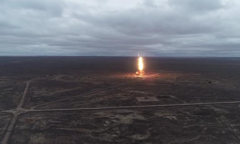 Ρωσία: Πλάνα από τη δοκιμή μυστικού αντιαεροπορικού τους όπλου!