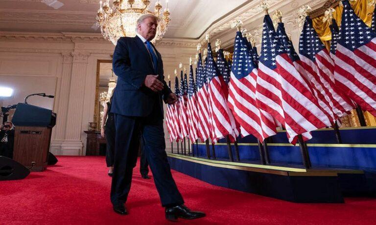 Τραμπ: Αποδέχτηκε την ήττα- Παραδίδει την εξουσία