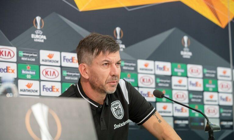 Γκαρσία: «Τελικός και για εμάς το ματς με την Αϊντχόφεν, είμαστε ΠΑΟΚ και θα παίξουμε για να νικήσουμε»