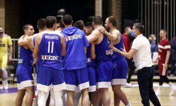 Εθνική ομάδα- FIBA