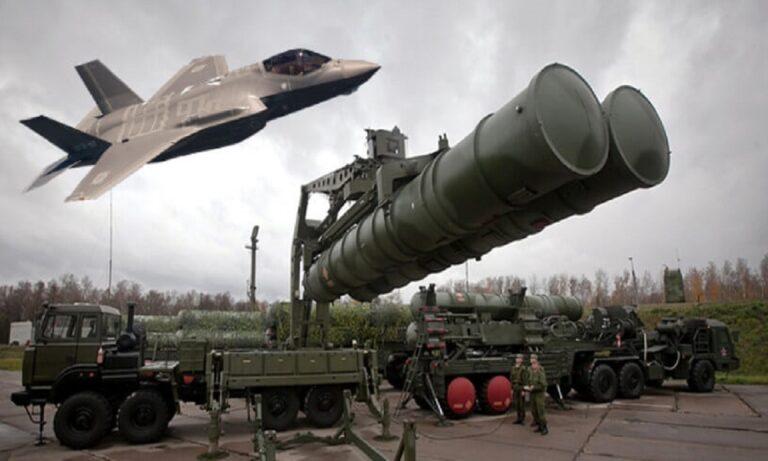 Toυρκία: Η Ελλάδα θα κινηθεί εναντίον των S-400 με τα F-35