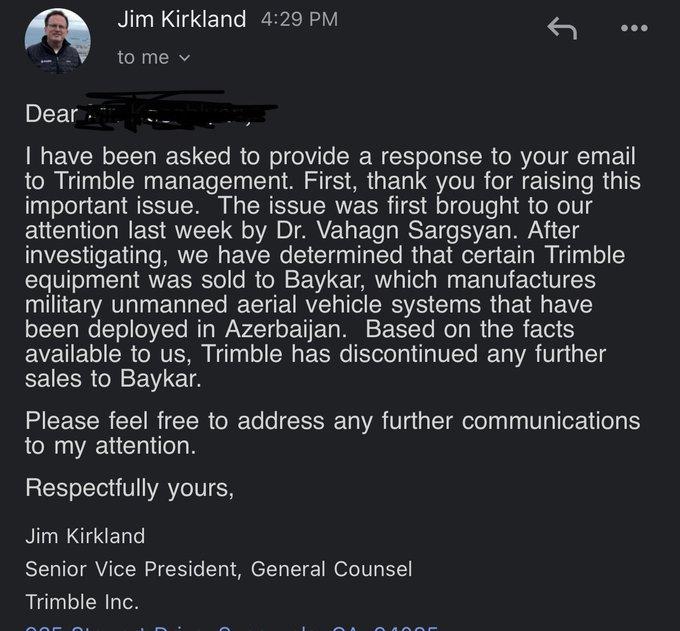 Bayraktar: Χωρίς GPS έμειναν τα τουρκικά drones αφού η αμερικανική εταιρεία που προμήθευε τους Τούρκους ανακοίνωσε την επιβολή εμπάργκο στην Τουρκία, λόγω χρήσης τους σε βομβαρδισμούς αμάχων.