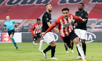Αϊντχόφεν – ΠΑΟΚ 3-2: Δεν άντεξε και κινδυνεύει να μείνει έξω! (vids). Ο ΠΑΟΚ γνώρισε την ήττα από την Αϊντχόφεν με 3-2 και κινδυνεύει να μείνει εκτός συνέχειας του Europa League