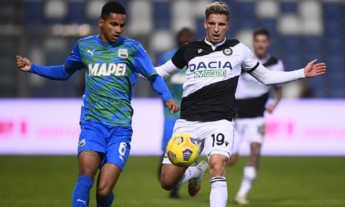 Σασουόλο – Ουντινέζε 0-0: «Πέταξε» την ευκαιρία για κορυφή (vid)