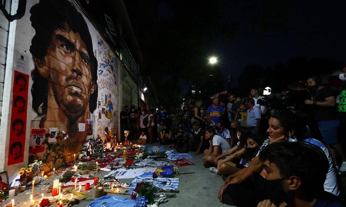 Μαραντόνα: Σε Live streaming το λαϊκό προσκύνημα στην Casa Rosada