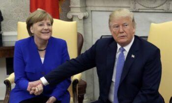 Γερμανία: Τα... πήρε η Μέρκελ με τις δηλώσεις Τραμπ για τις Αμερικανικές εκλογές (vid)