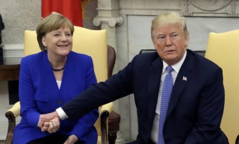 Γερμανία: Τα… πήρε η Μέρκελ με τις δηλώσεις Τραμπ για τις Αμερικανικές εκλογές (vid)