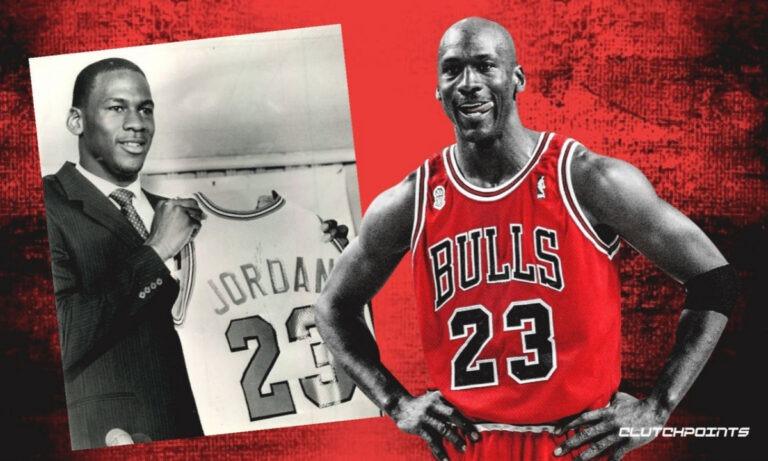 NBA Draft Michael-Jordan-Bulls 1984