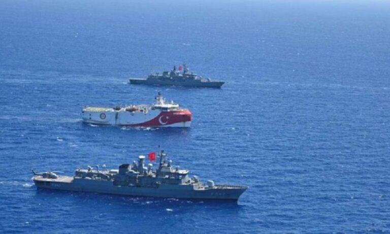 Oruc Reis: Δεν ανανεώθηκε η Navtex, έβαλε πλώρη για Τουρκία