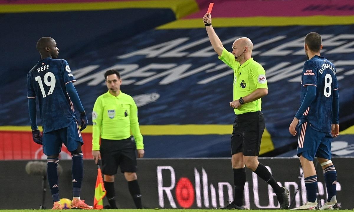 Λιντς – Άρσεναλ 0-0: Τέσσερα δοκάρια, μία αποβολή, αλλά όχι γκολ