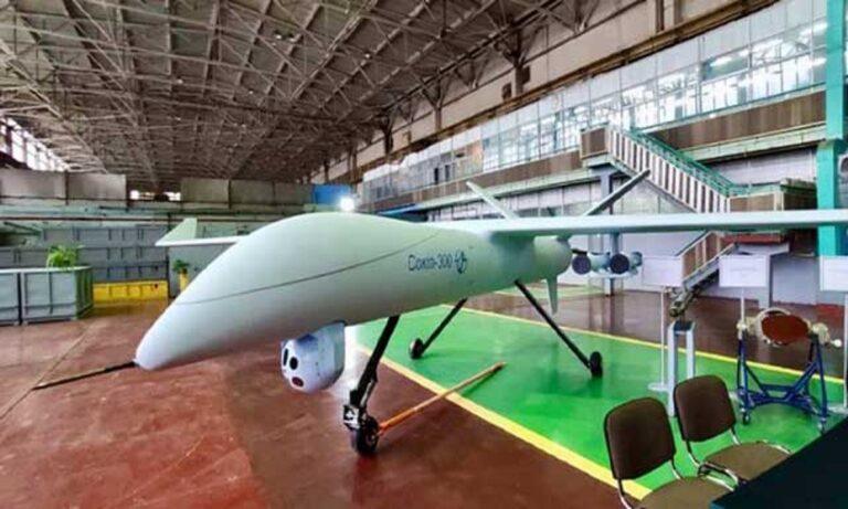 Ουκρανικά Bayraktar: Παρουσιάζεται το UAV Sokol-300