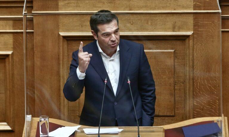 Τσίπρας: «Μόνο ένας δεν έχει ατομική ευθύνη, ο  Μητσοτάκης-Έλεγε πως νίκησε τον κορονοϊό και έκανε φιέστα!»