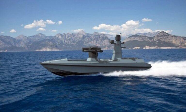 Ελληνοτουρκικά: Η Τουρκία γεμίζει την Μεσόγειο με drone πλοία οπλισμένα με πυραύλους