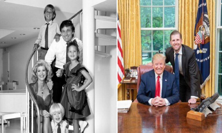 Aμερικανικές εκλογές 2020: Περήφανος για τον πατέρα του δήλωσε στο Twitter ο γιος του Ντόναλντ Τραμπ, Έρικ.