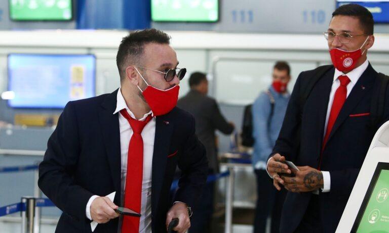 Ολυμπιακός: Στο αεροπλάνο για Μασσαλία ο Βαλμπουενά – Εκτός ο Χασάν (pics)