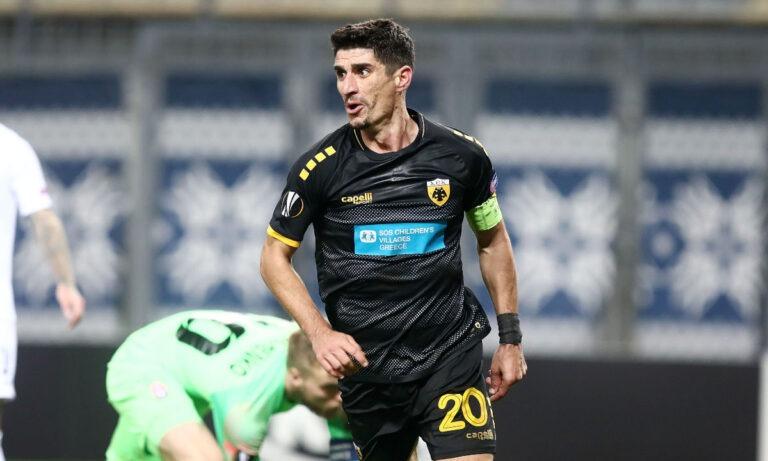 Μάνταλος: Στην καλύτερη ενδεκάδα της 3ης αγωνιστικής στο Europa League