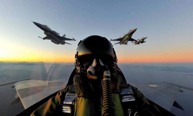Ελληνοτουρκικά: Οι Ευρωπαίοι είδαν αερομαχία με τουρκικά F-16 σε ζωντανή σύνδεση
