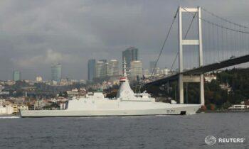 Αίγυπτος: Στέλνει για πρώτη φορά πολεμικά πλοία στη Μαύρη Θάλασσα