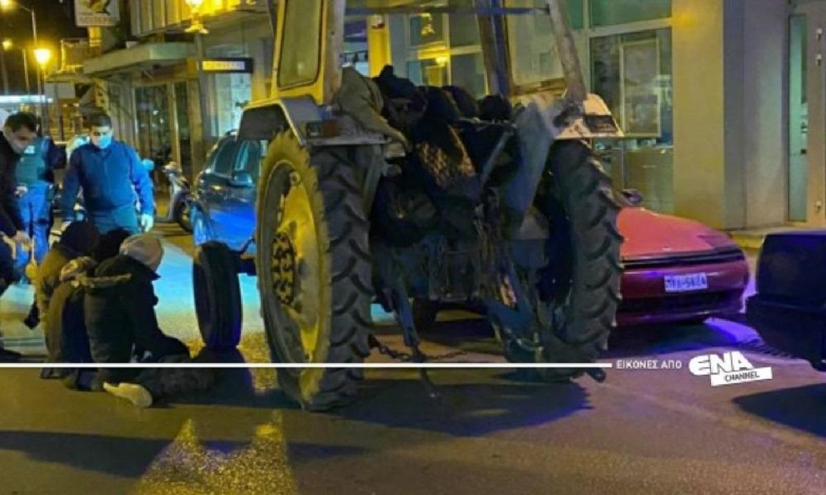 Ποιο lockdown; Λαθρομετανάστες έκοβαν βόλτες με τρακτέρ τη νύχτα στην Καβάλα! (vids)