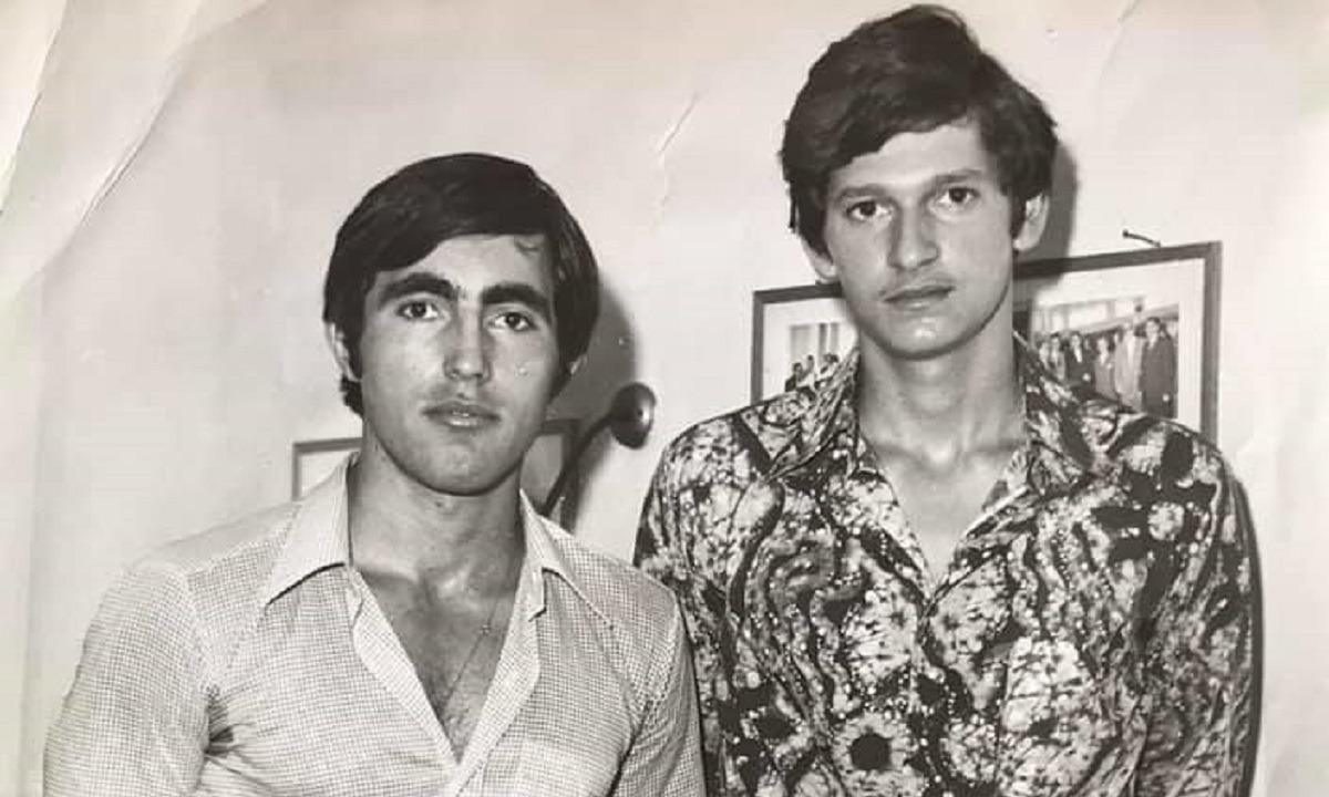 Φωτογραφία ντοκουμέντο: Παπαγεωργίου-Αλεξανδρής συναντούν τον Νίκο Καμπάνη