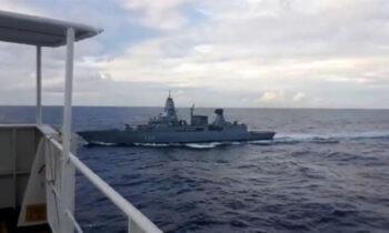 Γερμανοί: «Οι στρατιώτες του Bundeswehr (σ.σ. ομοσπονδιακού στρατού) συμπεριφέρθηκαν εντελώς σωστά στο τουρκικό πλοίο».