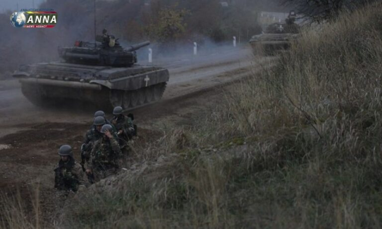 Nαγκόρνο Καραμπάχ: Έβγαλαν τα άρματα οι Αρμένιοι – Μπλόκο στα Bayraktar από τους Ρώσους