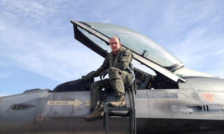 Αρχηγός ΓΕΑ: Έκανε πτήση συντήρησης με F-16 Block 52+