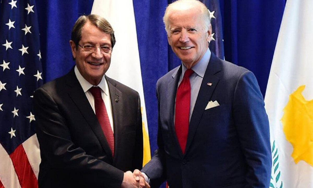 Αναστασιάδης: «Φίλος της Κύπρου ο Τζο Μπάιντεν» (vid)