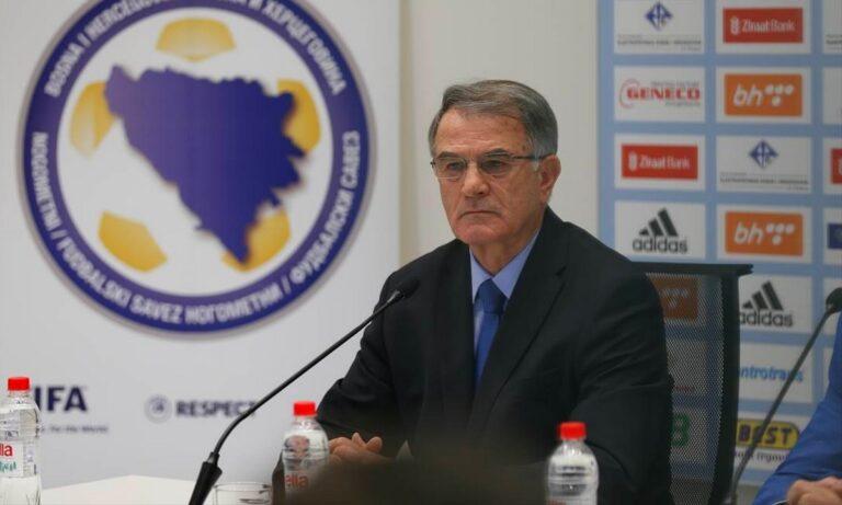Ντούσαν Μπάγεβιτς: «Τελειώνει» από την Εθνική Βοσνίας