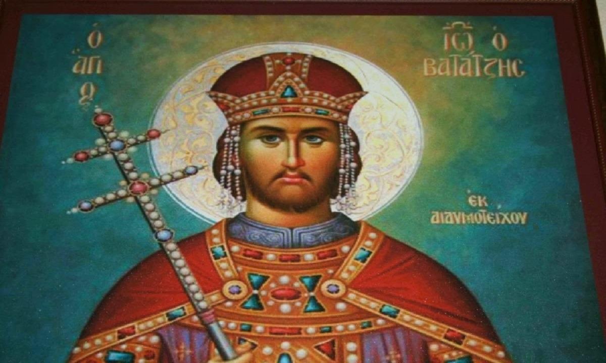 Σήμερα γιορτάζει ο Μαρμαρωμένος Βασιλιάς – Ο Άγιος Ιωάννης Βατάτζης