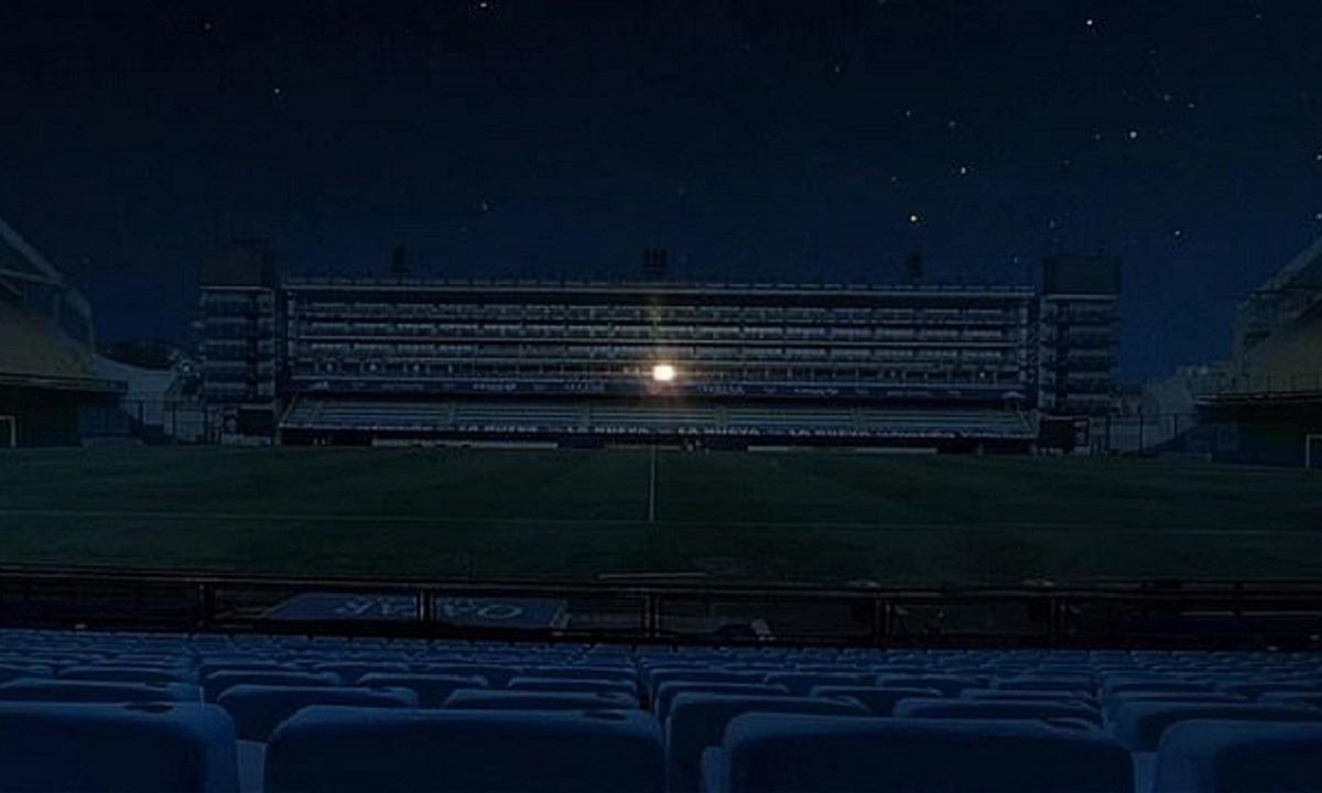Συγκινητικό: Η Μπόκα έσβησε όλα τα φώτα του «Μπομπονέρα» εκτός από τη σουίτα του Μαραντόνα
