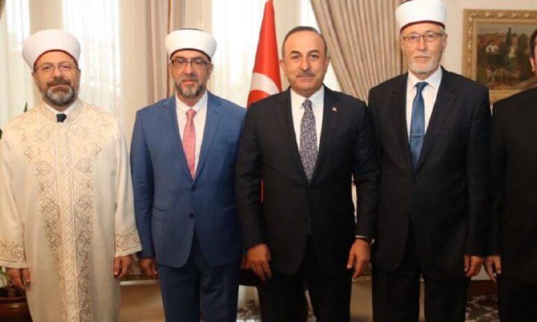 Προκαλούν οι Τούρκοι: Θέμα «Τουρκικής μειονότητας» στη Θράκη έθεσε ξανά ο Τσαβούσογλου