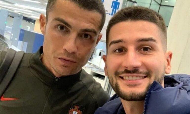 Τσόλακ: Η selfie με τον Κριστιάνο Ρονάλντο (pic)