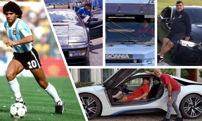 Όλα τα αυτοκίνητα του Μαραντόνα: Οδηγούσε από μίνι μέχρι αμφίβιο στρατιωτικό όχημα!