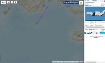 Οruc Reis: Ιπτάμενο ραντάρ E-7T «Peace Eagle» έστειλαν οι Τούρκοι επάνω από το τουρκικό ερευνητικό στην Ανατολική Μεσόγειο.