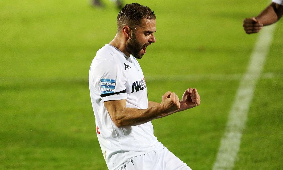 ΟΦΗ – ΠΑΣ Γιάννινα: Ισοφαρίζει σε 1-1 ο Ελευθεριάδης – Του ακυρώθηκε κι άλλο γκολ