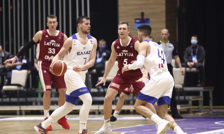 Ελλάδα- Λετονία 66-77: Ξεφούσκωτη στη… φούσκα