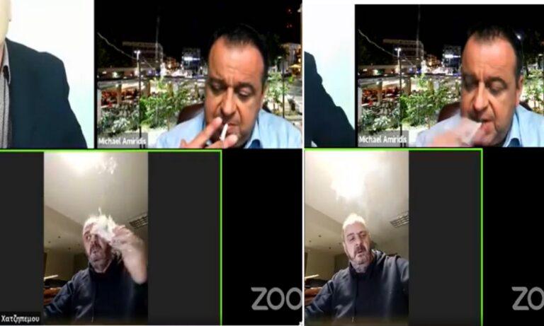 Έβρος: Κάπνισμα live από… θεριακλήδες περιφερειακούς συμβούλους!