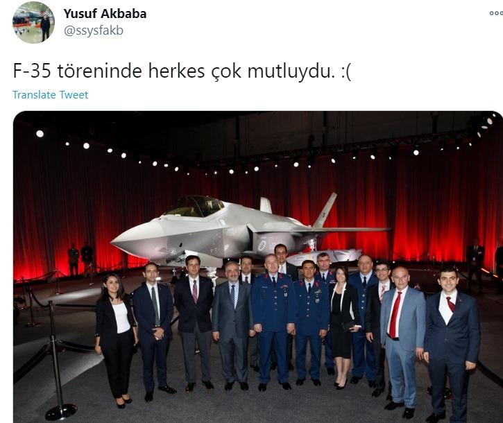 Τούρκοι: Απαρηγόρητη είναι η Τουρκία για την αποβολή της χώρας από το πρόγραμμα κατασκευής και αγοράς των αμερικανικών F-35.
