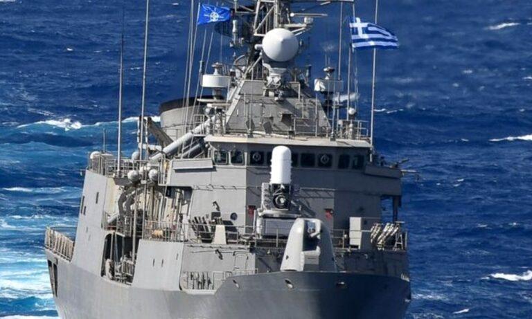 Φρεγάτα «ΣΠΕΤΣΑΙ»: Επικεφαλής της Sea Guardian (OSG) του ΝΑΤΟ!