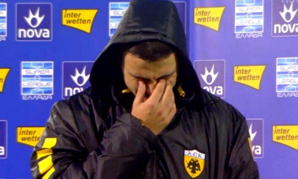 Γαλανόπουλος: «Λύγισε» μπροστά στην κάμερα και έβαλε τα κλάματα (vid)